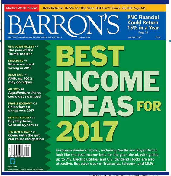 barron's jan 2 2017